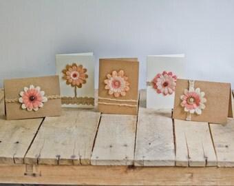 Vintage Flower Greeting Cards