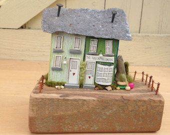 Inn on the Green...pair of driftwood cottages/pub