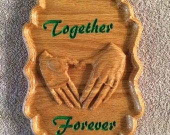 Together Forever Plaque