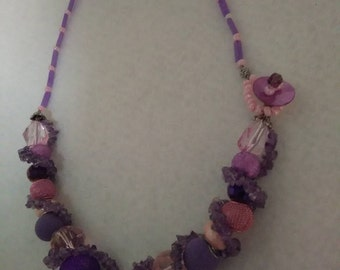 Intuition and Love beaded Necklace