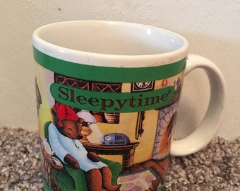 1993 Celestial Seasonings Sleepytime Tea Mug