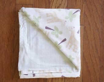 Crochet Baby Blanket Fabric