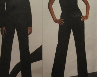 Pattern Vogue 2769 DKNY jacket and trousers 8-10-12