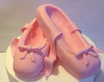 Edible Cake Toppers cake decorations sport dance 3d ballet shoes