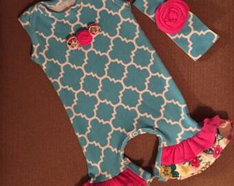 Baby Girl Romper 0-3 months