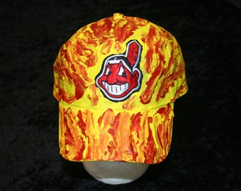 Indians Baseball on Fire