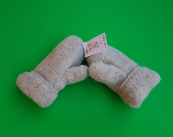 kids gloves/mittens/100% Organic wool gloves/handmade mittens/thumb mittens