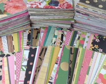 3x4 Journal Cards, Planner Cards, Hand Cut Journal Cards, Scrapbook Cards, Pocket Cards, Project Life Inspired Cards,