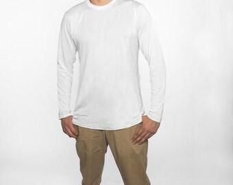 Undershirt for Sensitive Skin - Long Sleeve