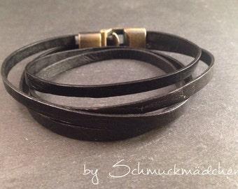 Bracelet black bronze