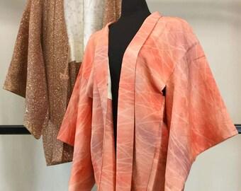 Japanese Haori Kimono Jacket Set