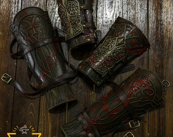 Hunter's bracers and greaves, Bloodborne, props