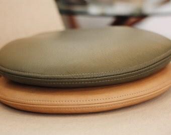 C-S Round Leather Cushion