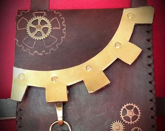 Steampunk, Steampunk belt bag belt bag