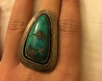 Turquoise Navajo Ring