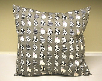 Pillow Cat Square Small Decoration Couch Travel Pillow