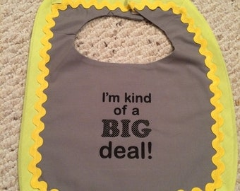 Big Deal Bib