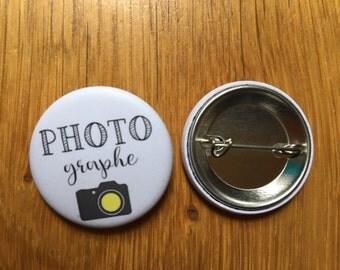 Wedding photographer badge