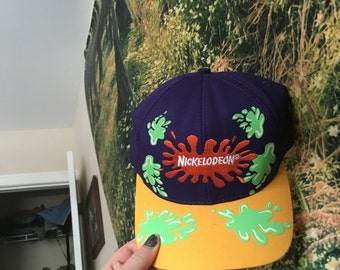 Nickelodeon slime Time hat from 1997