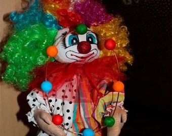 "Interior doll ""Clown"""