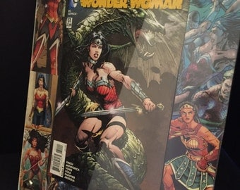 11x14 Wonder Woman comic display frame