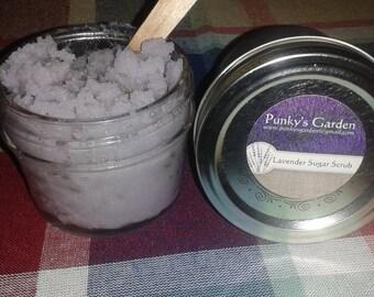 4oz  Lavender Sugar Scrub
