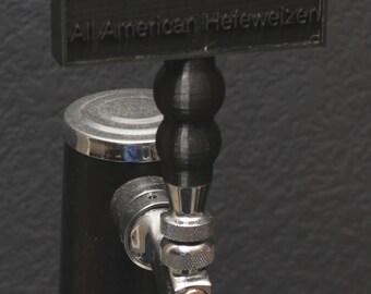 Custom Homebrew 3d Printed Tap Handle