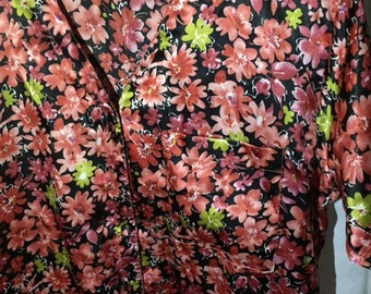 Vintage Vanity Fair Floral Nightgown