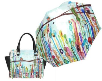 Little Birdie Handbag and Umbrella Combo Special