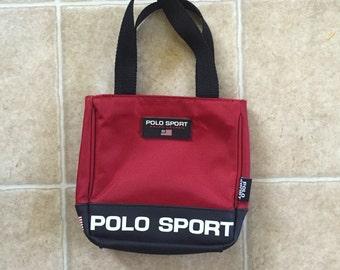 Polo Sport Bag Etsy