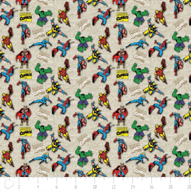 Marvel Fabric: Avengers Comics