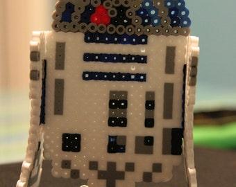 3D R2-D2: Perler Bead Sprite