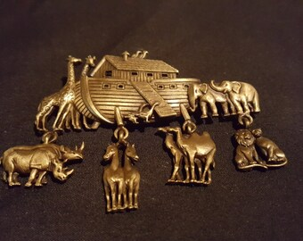 Noah's ark broach