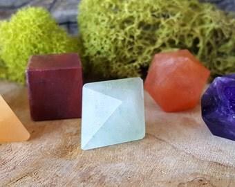 7 Chakra Crystal Platonic Geometry 7 pc Set - 659