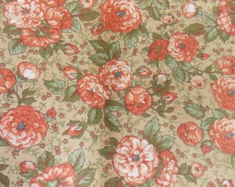 CLEARANCE FABRIC Floral Fabric Flower Fabric Quilt Fabric Cotton Fabric Craft Fabric Doll Fabric Pillow Fabric Curtain Fabric