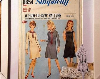 Framed Vintage Sewing Pattern