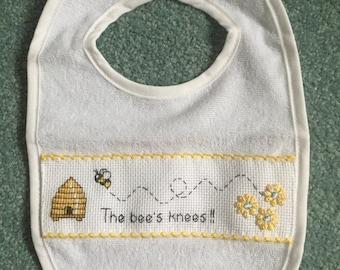Baby's Bib - 'The Bee's Knees!!'