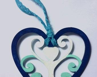Wooden Goddess Ornament