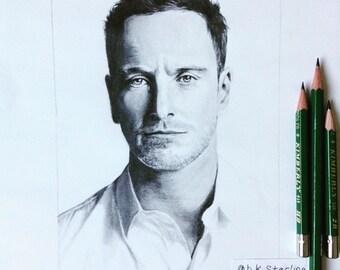 Custom Celebrity Portrait
