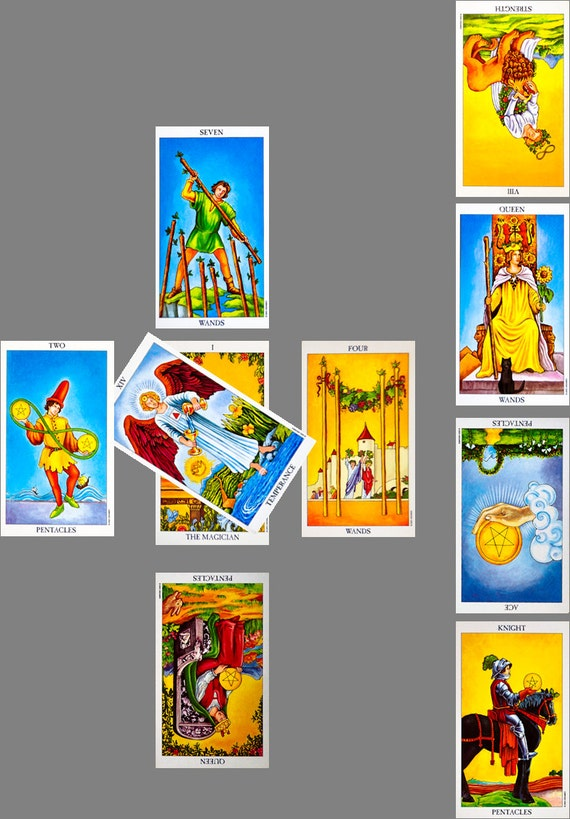 Celtic Cross Tarot Reading. Full Tarot Reading Psychic
