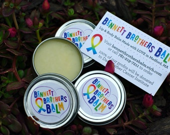NEW FALL SCENTS!!! Bennett Brothers Balm - Original Lip & Body Balm - 100% of profits donated to Dana-Farber Cancer Institute!