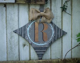 Last Initial Door Hanger!