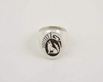 Ring, Hopi, Loup, size 63, man, money 9/25