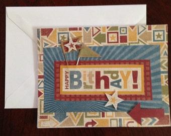 Birthday Card, Humorous Card, Funny Card, Homemade Card