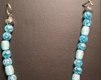 Beautiful blue ankle bracelet