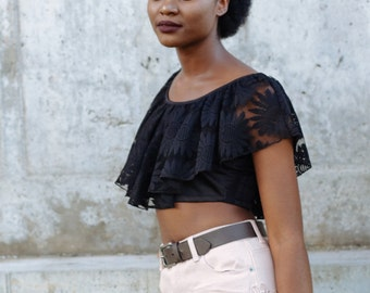 Afrocentric Lace Shorts