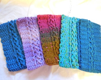 Crocheted Cable Headbands
