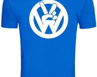 VW Peace Tshirt Peace Sign