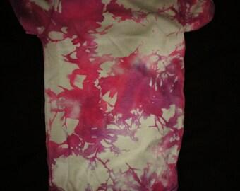 Tie Dye Onesie, 12 month Tie Dye Onesie, Tie Dye Baby Onesie