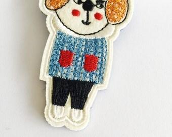 Cute Bear Acrylic Pin